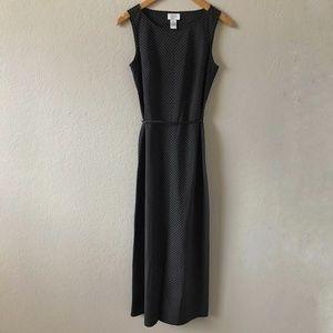 NWT ANN TAYLOR LOFT Chevron Maxi Sheath Dress 2